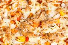 Pizza al Tonno Stock Photo