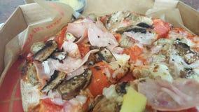 Pizza alguma Imagem de Stock
