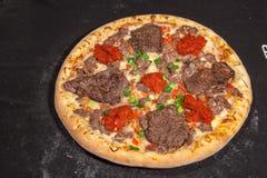 Pizza, aliments de préparation rapide Photo stock