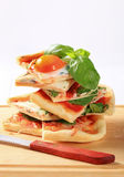 Pizza Alla Bismarck Stock Image