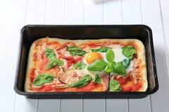 Pizza Alla Bismarck Royalty Free Stock Photos