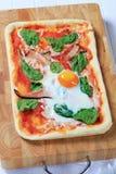Pizza Alla Bismarck Stock Images