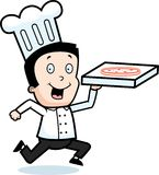 Pizza-Anlieferung Lizenzfreie Stockfotografie