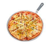 Pizza appetitosa Immagini Stock