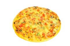 Pizza appetitosa fresca Fotografie Stock Libere da Diritti