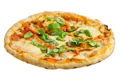 Pizza Arrabiata Royalty-vrije Stock Afbeelding