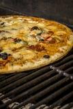 Pizza arrostita squisita Fotografie Stock