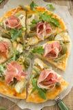 Pizza with arugula. Royalty Free Stock Photos