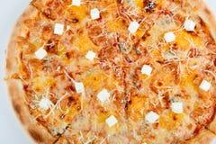 Pizza aus der ganzen Welt bunt, knusperig, geschmackvoll lizenzfreie stockfotos