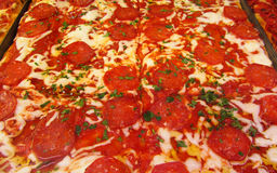 Pizza aus Italien Stockbild