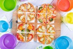 Pizza aux légumes Image libre de droits