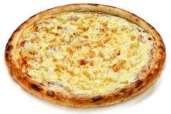Pizza avec du fromage Image libre de droits