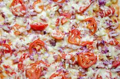 Pizza Background Stock Image