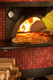 The Pizza baking Royalty Free Stock Photography