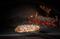 Pizza baking Royalty Free Stock Image