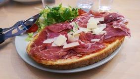Pizza baleron Zdjęcie Royalty Free