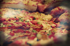Pizza from Barcelona Stock Image