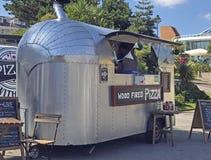 Pizza baru Niscy ogródy Bournemouth Zdjęcie Royalty Free