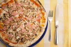 Pizza lizenzfreie stockfotos