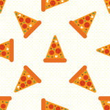 Pizza bezszwowa Zdjęcia Royalty Free