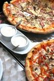 pizza bien choisie Image libre de droits