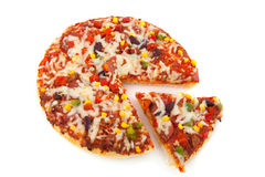 Pizza Bolognesa Royalty Free Stock Photo