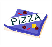 Pizza box Royalty Free Stock Photography
