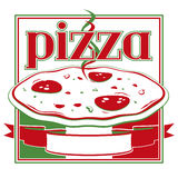 Pizza box stock illustration
