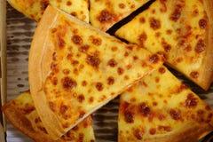 Pizza in box Stock Photo