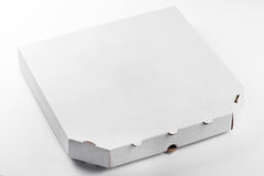 Pizza box isolated on white background Stock Photography