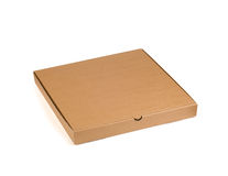 Pizza box Stock Photography