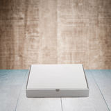 Pizza box paperboard Royalty Free Stock Image