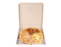 Pizza box Royalty Free Stock Photo