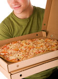 Pizza boy Stock Photos