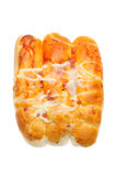 Pizza bread Stock Photography