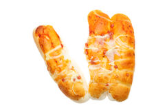 Pizza bread Royalty Free Stock Image