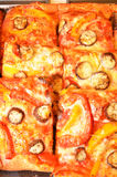 Pizza bread Stock Images
