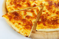 Pizza bread with cheese Royalty Free Stock Photo