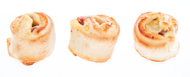Pizza Bread (on white) Royalty Free Stock Photography