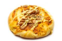 Pizza bread Stock Image