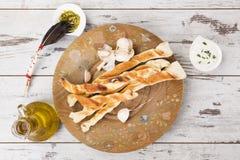 Pizza breadsticks. Royalty Free Stock Photo