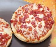 Pizza Burger Stock Photo