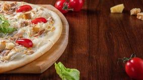 Pizza Caesar w g fotografia stock