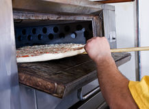 Pizza calda Fotografia Stock