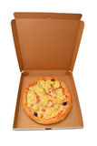 Pizza calzone stock photos