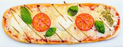 Pizza Caprese zdjęcie royalty free