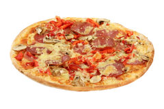 Pizza Capricciosa Stock Photography