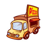 Pizza car Stock Photo