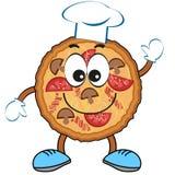 Pizza cartoon Royalty Free Stock Photography