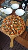 Pizza casalinga Immagini Stock Libere da Diritti